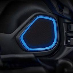 Moldura iluminada de alto-falantes WR-V